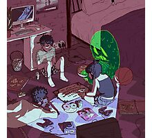 Ouija Board Photographic Print