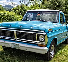 Old Ford Pickup For Sale by Edward Fielding