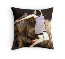 Invisible Support Throw Pillow