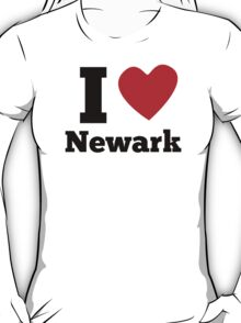 I Heart Newark T-Shirt