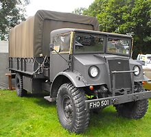 Old military Ford by Andy Jordan