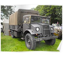 Old military Ford Poster