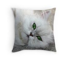 Lazy Lola Throw Pillow