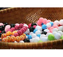 Gum balls? Naah Photographic Print