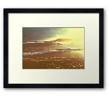 Vintage Tides Framed Print