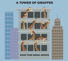 A Tower of Giraffes Baby Tee