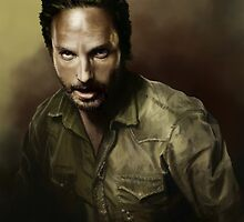 Rick Grimes by KaitlinMarieArt