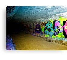 Graffiti Drain Canvas Print