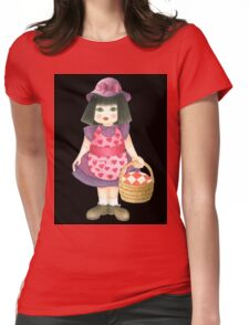 pink doll Womens Fitted T-Shirt