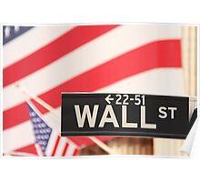 Wall Street, the Symbol Poster