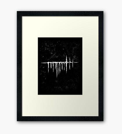 Arcane Lake Framed Print