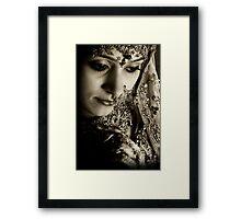 Bride Neetu Framed Print