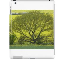 Yellow and green landscape iPad Case/Skin