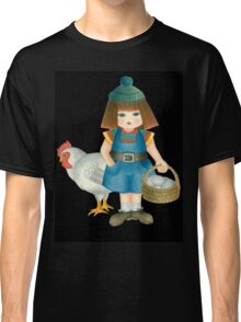 doll and chicken Classic T-Shirt