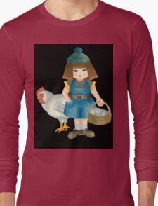 doll and chicken Long Sleeve T-Shirt
