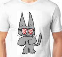Cat Has Hypno Glasses Unisex T-Shirt
