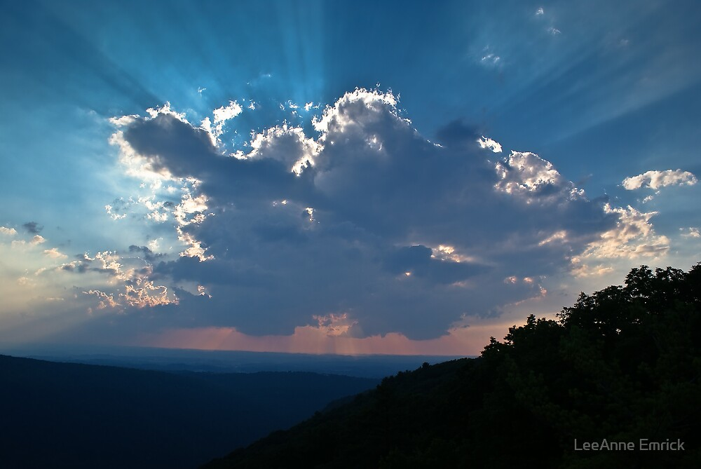 Coopers Rock Cloud by LeeAnne Emrick