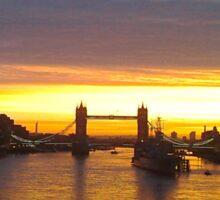 Tower Bridge Backlit Sticker