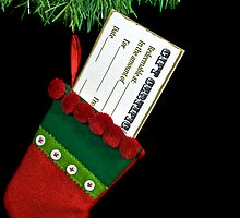 Stocking Stuffer by Maria Dryfhout