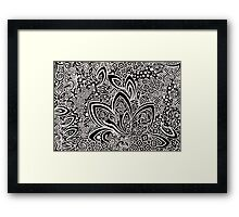 Gothic Excess Framed Print