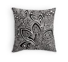 Gothic Excess Throw Pillow