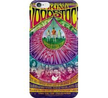 Woodstock Vintage Poster iPhone Case/Skin