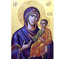 Mary Icon Photographic Print