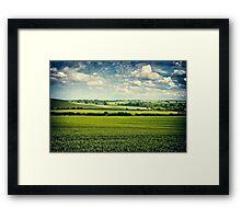 Dynamic Northamptonshire Landscape Framed Print