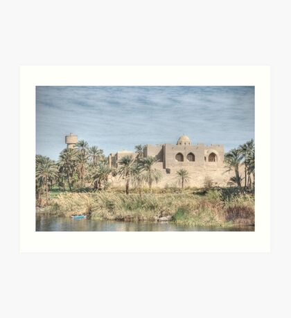 On The Nile Art Print