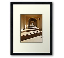 path to lightness Framed Print