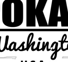 Spokane Washington Sticker
