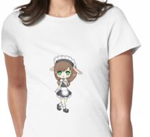 Bunny Maid Chibi  Womens Fitted T-Shirt