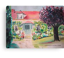 Garden in Giverny, France Canvas Print