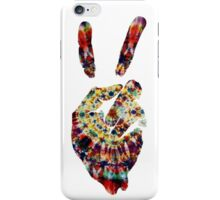 Hippie Peace Sign iPhone Case/Skin