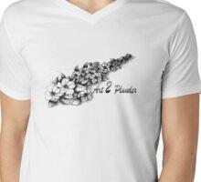 Art 2 Plunder Mens V-Neck T-Shirt