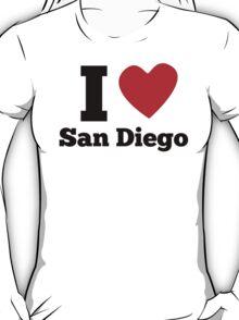 I Heart San Diego T-Shirt
