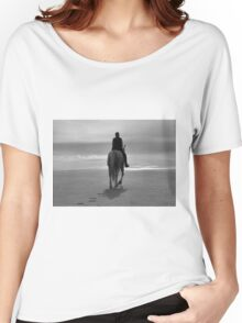 Into The Fog B&W Women's Relaxed Fit T-Shirt