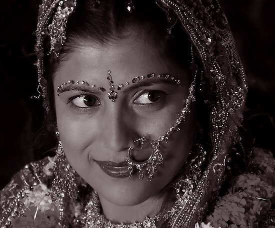 WHEN SHE SAW HER GROOM by RakeshSyal