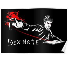 Dex Note Poster