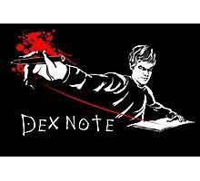 Dex Note Photographic Print
