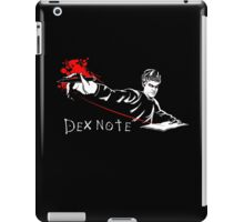 Dex Note iPad Case/Skin