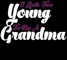 i know i look too young to be a grandma  by teeshoppy