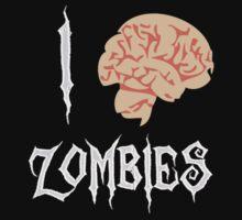 I Brain (<3) Zombies by ChestArmor