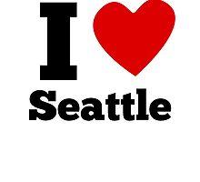 I Heart Seattle by GiftIdea