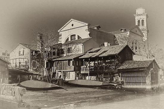Where Gondolas Born by paolo1955
