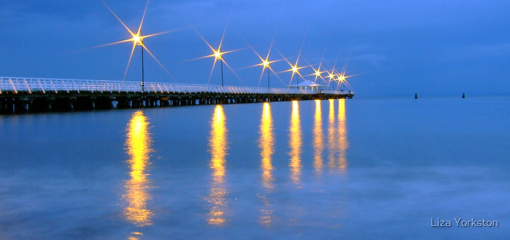 Lights at dusk by Liza Yorkston