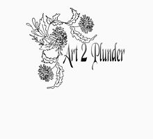 Art 2 Plunder Logo 5 Mens V-Neck T-Shirt