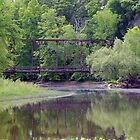 Bridge Reflection by tom j deters