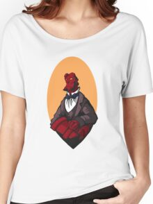 Hellboy Bust Women's Relaxed Fit T-Shirt