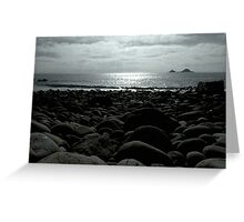 Cot Valley Beach, St Just Greeting Card